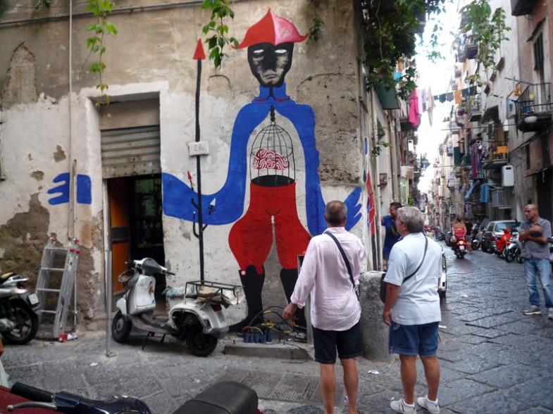 murales di Cyop e Kaf ai quartirei spagnoli